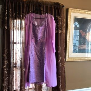 Dresses & Skirts - Semi formal Dress with Sheer Jacket